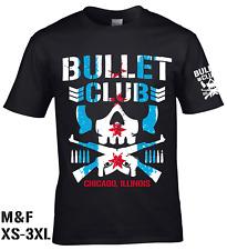 CM Punk Chicago Bullet Club T-shirt  -  NJPW Villain ROH New Japan Ring of Honor
