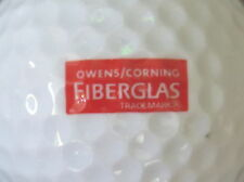 (1) Owens Corning Fiberglas Logo Golf Ball
