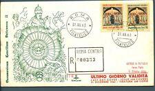 ITALIA REP. - 1962 - Chiusura Concilio Vaticano II° - ultimo giorno di validità
