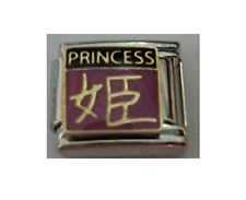 9mm Classic Size Italian Charm E71  Chinese Symbol Princess