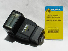 PROMATIC FTD 2500  flash w. Instructios Universal  Dedicated for Nikon  FTD2500