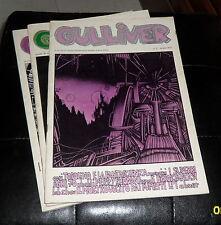 GULLIVER (Fanzine) 3/1977 cover: Zibordi + Topolino e la Fantascienza *Ottimo*