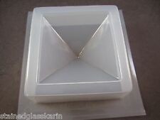 """Resin Mold Epoxy Pyramid 3.5"""" 87mm Square Base Orgone Paperweight Embed 60g"""