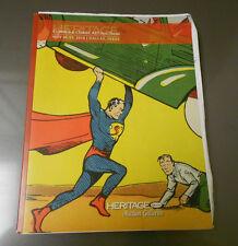 2010 HERITAGE Comics Comic Art Auction Catalog SUPERMAN May 20-21 TX 246 pgs