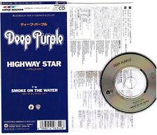 "DEEP PURPLE Highway Star /Smoke On The Water JAPAN 3""CD SINGLE WPDP-6342 No Snap"