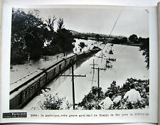 PHOTO ACCIDENT DE CHEMIN DE FER TRAIN FESTUS MISSOURI USA ETATS UNIS c319