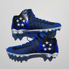 Nike Field General Pro Td Varsity Blue Football Cleats Size 14 833386-410 New