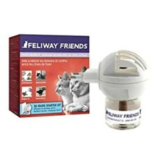 Feliway Friends Plug-In Diffuser Device & Refill 30 Day Starter Kit for Cats