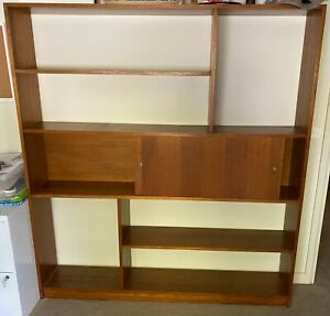 Mid Century bookshelves used, wood, great condition. Pick up after lockdown.
