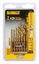 DEWALT 7 Piece IMPACT READY® Titanium Drill Bit Set - DD5157