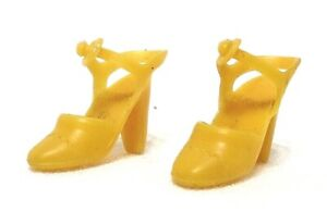 Barbie Superstar Era YELLOW ANKLE STRAP HEELS Taiwan