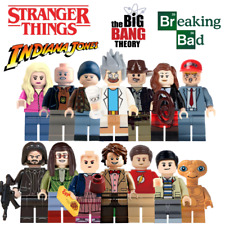 LEGO custom Television Mini Figures - Stranger Things E.T Big Bang Theory Morty
