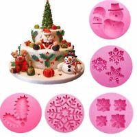 schneeflocken zucker - paste silikon fondant kuchenform schneemann weihnachten.