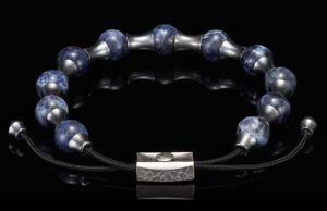 William Henry Sodalite Zenith Bracelet, BB19 SOD, Brand New in Original Box