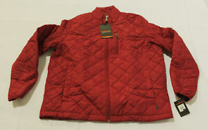 Gap Kids Boy's Upcycled Lightweight Puffer Jacket AL8 Red Size XS (4-5) NWT