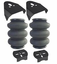 triple bellow 2600 air bags & over the rear axle mounting brackets air ride