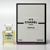 CHANEL Nº 5 PARFUM 1.5 ml / 0.05 oz Micro Mini Perfume Miniature Bottle NIB