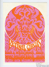 Retinal Circus Postcard 1967 Jul 17 Black and White Power The Loyalist