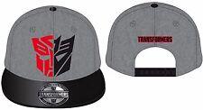 Transformers Cap Autobot vs Deception Snapback Baseball Cap Mütze Kappe NEU