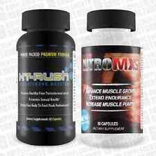 Nitro MXS 90 capsules & Ht Rush 60 capsules, Bodybuilding,testosterone,strength