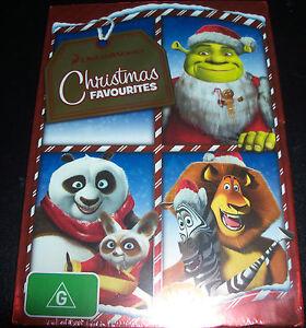 Christmas Favourites Shrek / Madagascar / Kung Fu PandA (Aust Reg 4) DVD - New