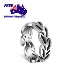Stunning Fashion 925 Sterling Silver Oliver Leaf Open Ring