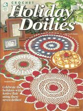 Holiday Doilies Emma L Willey Crochet Instruction Pattern Book HOWB 101089