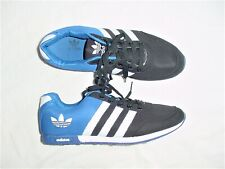 MENS ADIDAS SUPERSTAR BLACK BLUE WHITE SHELL KNIT RETRO SNEAKERS SHOES 9.5 M