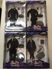 COMPLETE SET GENTLEMEN ACTION FIGURES AND BUFFY VAMPIRE SIDESHOW COLLECTIBLES