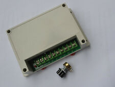 Input AC220V Output DC0-220V Motor Speed Controller 1200W (ZX6-G)