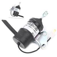 Fuel Shutdown Shut Off Solenoid for Kubota D902 B7410D BX1500D BX1800D cl