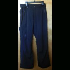 Spyder Men's Size M Black Insulated Ski Pants Thinsulate XtL 10/10k Spylon