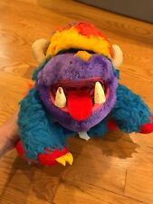 My Pet Monster 1987 Yaplet Puppet Plush By Amtoy - Vintage 30 years old!