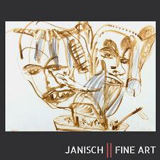 MARTIN DISLER - Aquarell, handsigniert, 1982 - Schweizer Künstler!