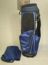Callaway 7 dividers stand golf bag with cover