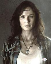 SARA WAYNE CALLIES REPRINT AUTOGRAPHED SIGNED PICTURE PHOTO THE WALKING DEAD RP