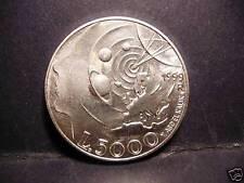 SAN MARINO 5000 Lire 1999 AG Allegoria di Oggi - FDC - 1007