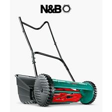 More details for bosch ahm38g 41cm hand push cylinder lawnmower