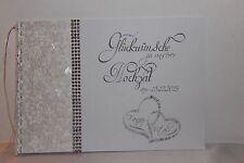 Gästebuch , Glückwünsche zur Hochzeit