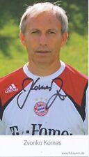 Zvonko Komes   FC Bayern München Autogrammkarte signiert 393751