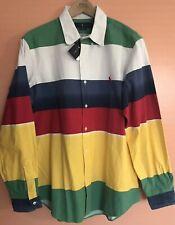 NWT Ralph Lauren CP-93 Bayport Polo Oxford Shirt XL P-wing Nautical Limited