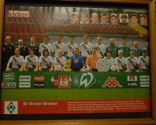 Poster SV Werder Bremen , deutscher Meister und Pokalsieger 2004