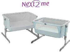 Next2me crib sky blue chicco baby co sleeping cot bedside next to me night light