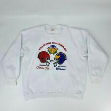Vintage Hall Of Fame Bowl Sweatshirt Men's Size XL Alabama vs Michigan 1988 NCAA