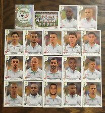 ALGERIE TEAM - 19 PANINI STICKERS COMPLETE TEAM - WORLD CUP BRAZIL 2014 #BRA03