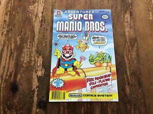 Adventures of the Super Mario Bros #7 Valiant Nintendo Comic RARE 1991 T