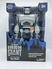 New Large Iron Giant figure Walmart exclusive lights/sound. Rare