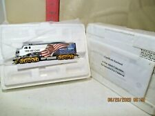 BACHMANN HAWTHORNE VILLAGE OBAMA LOCOMOTIVE , NEW IN STYROFOAM WITH PAPERS