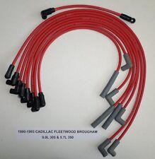 CADILLAC FLEETWOOD 1990-1993 5.0L/305 & 5.7L/350 RED HI-PERFORM Spark Plug Wires