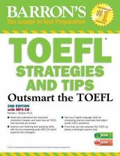 TOEFL Strategies and Tips with MP3 CDs, 2nd Edition: Outsmart the TOEFL iBT, Sha